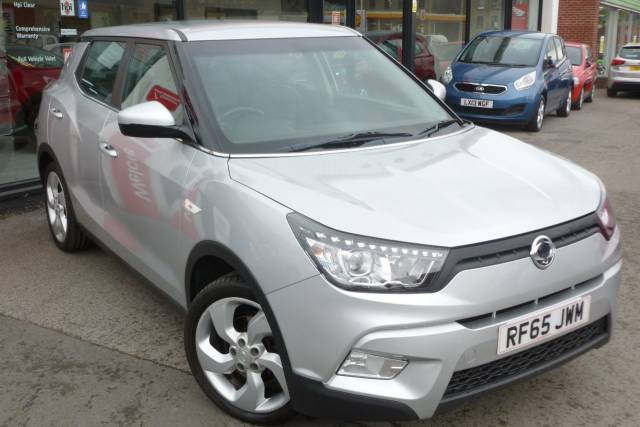 SsangYong Tivoli 1.6 EX 5dr AUTOMATIC Hatchback Petrol Silver