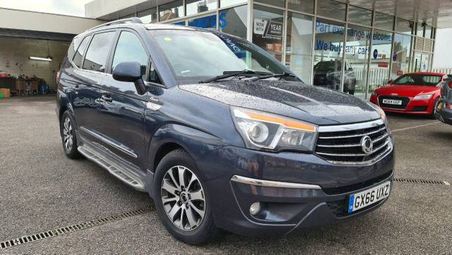 SsangYong Turismo 2.2 ELX 5dr Tip Auto 4WD MPV Diesel Grey at SsangYong GB Swindon