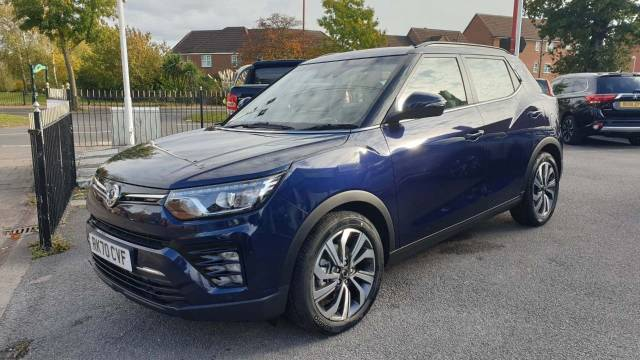 SsangYong Tivoli 1.5P Ultimate Auto 5dr Hatchback Petrol Dandy Blue at SsangYong GB Swindon