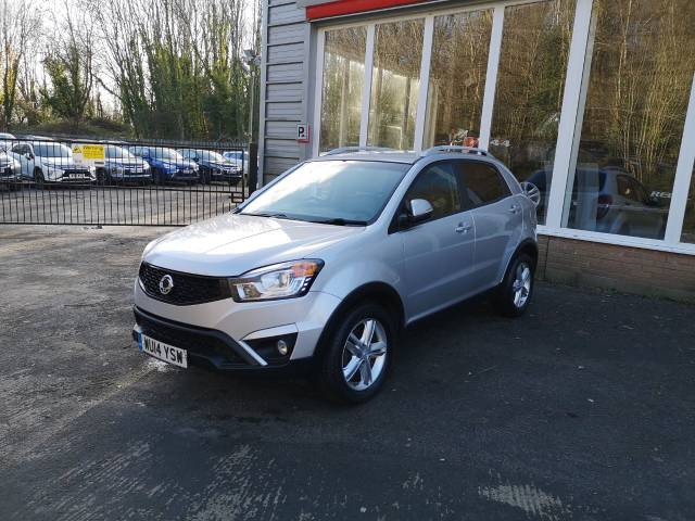 SsangYong Korando 2.0 ELX 4x4 5dr Estate Diesel Silver at SsangYong GB Swindon