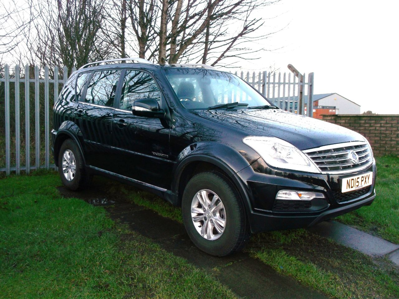 used ssangyong rexton w sx for sale in consett durham. Black Bedroom Furniture Sets. Home Design Ideas