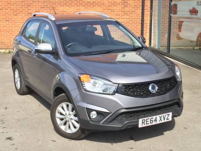 SsangYong Korando 2.0 SE4 AUTO - 4x4 Four Wheel Drive Diesel Grey at SsangYong GB Luton