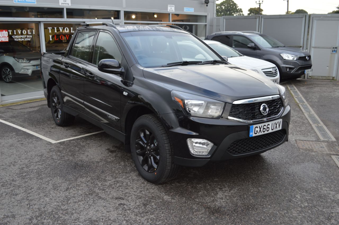 SsangYong Korando Sports 2.2 Musso Pick Up Diesel Space Black