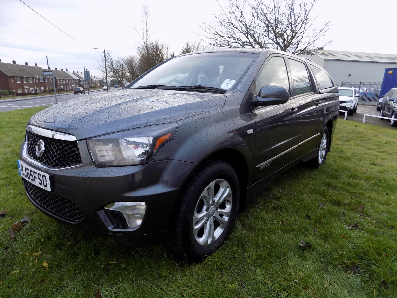 second hand ssangyong korando sport pick up ex 5dr auto 4wd for sale in consett durham. Black Bedroom Furniture Sets. Home Design Ideas