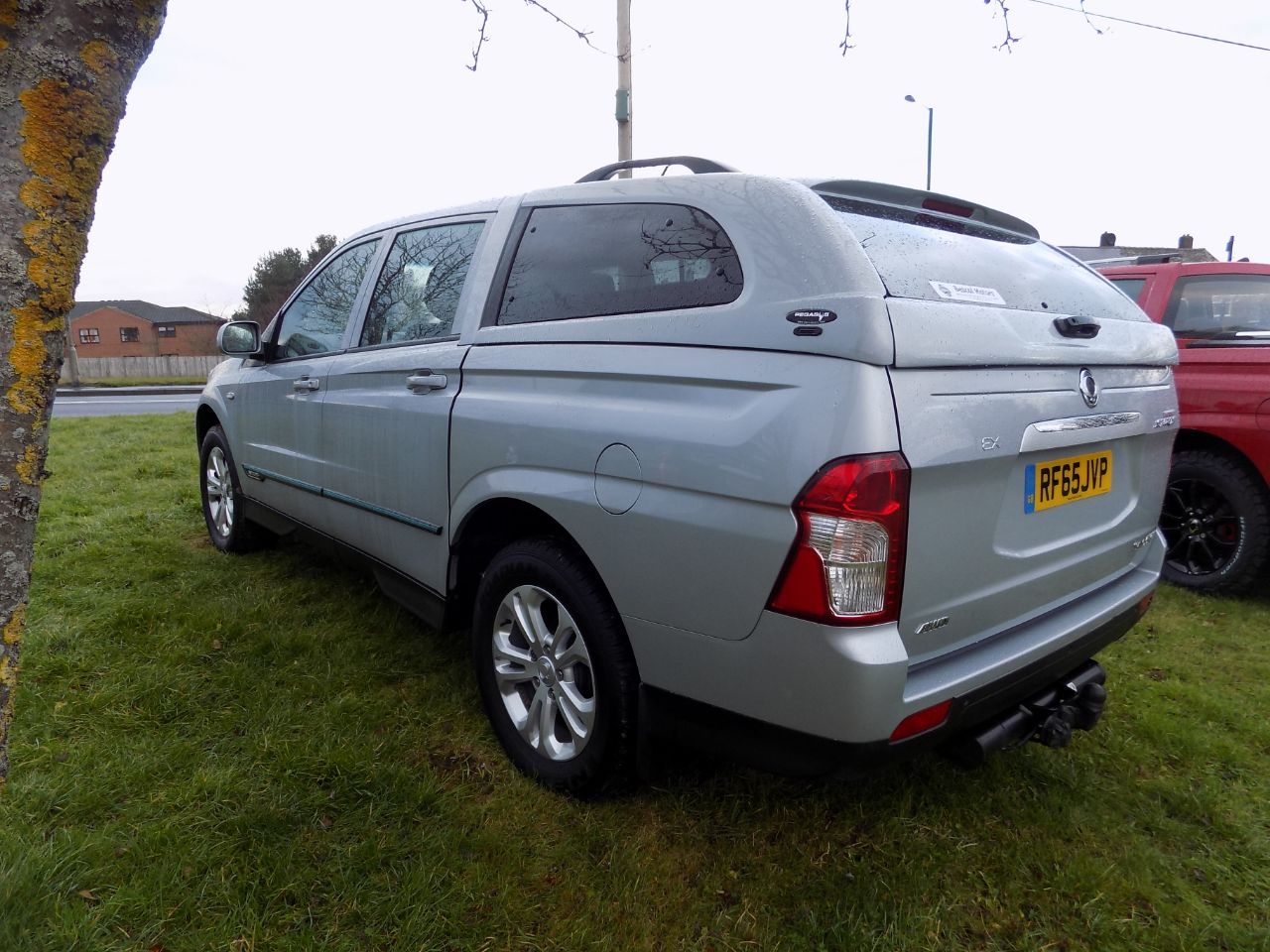 SsangYong Korando Sport 2.0 Pick Up EX 5dr 4WD Four Wheel Drive Diesel Silver