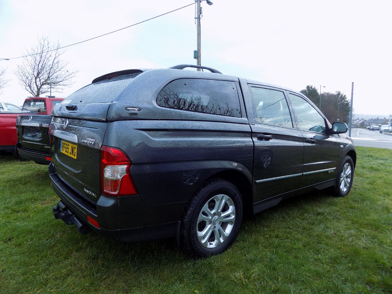 SsangYong Korando Sport 2.0 Pick Up EX 5dr 4WD Four Wheel Drive Diesel Grey