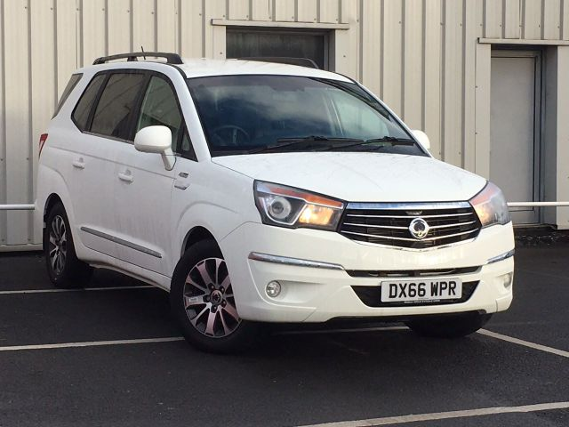 SsangYong Turismo 2.2 ELX 5dr Tip Auto 4WD MPV Diesel White at SsangYong GB Luton