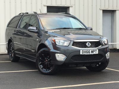 SsangYong Musso 2.2 EX Auto Pick Up Diesel GreySsangYong Musso 2.2 EX Auto Pick Up Diesel Grey at SsangYong GB Luton