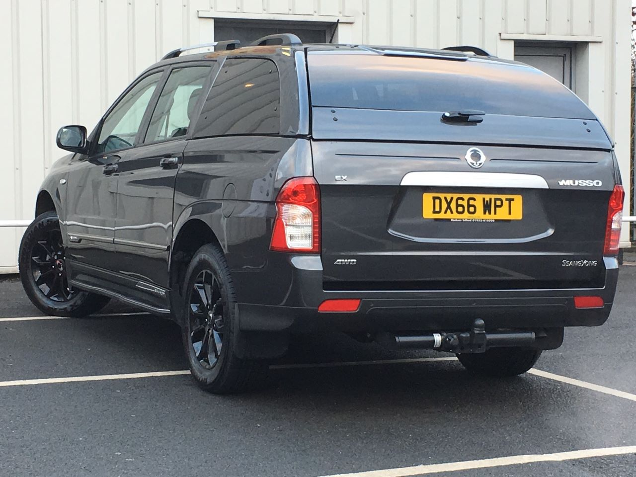 SsangYong Musso 2.2 EX Auto Pick Up Diesel Grey