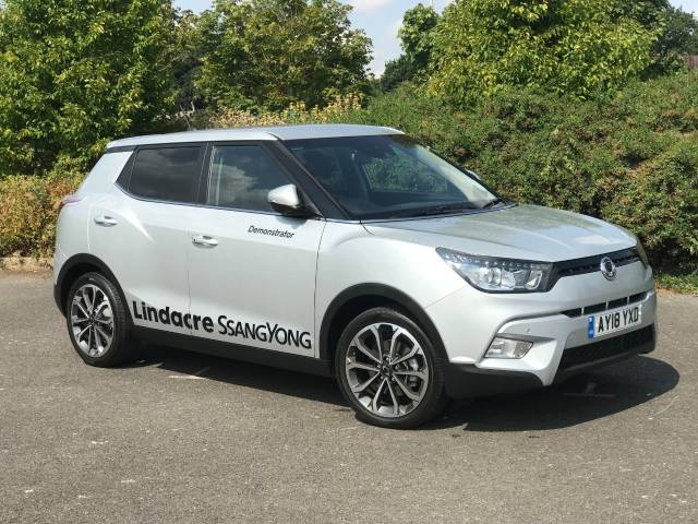 SsangYong Tivoli 1.6 ELX 5dr Hatchback Petrol Silver at SsangYong GB Luton