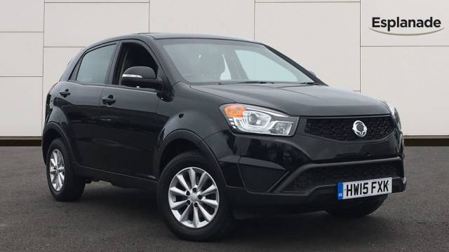 SsangYong Korando 2.0 KORANDO SE Estate Diesel Black at SsangYong GB Luton