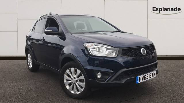 SsangYong Korando 2.2 EX 5dr Estate Diesel Blue at SsangYong GB Luton