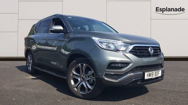 SsangYong Rexton 2.2 Ultimate 5dr Auto Estate Diesel Grey at SsangYong GB Luton