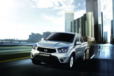 European launch for the SsangYong Actyon Sports