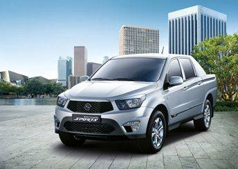 SsangYong Korando Sports gets set for UK launch