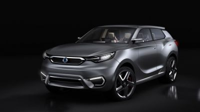 SsangYong Showcases Its SIV-1 Concept at Geneva