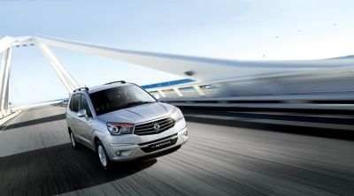 European Launch of the New SsangYong Rodius Turismo