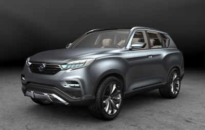SsangYong Showcases Its LIV-1 Concept at the Seoul Motor Show