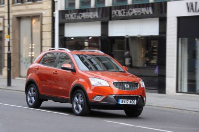 5 year free service offer on Korando from SsangYong