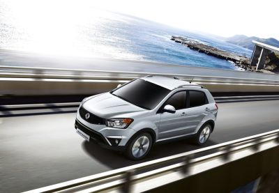 SsangYong Gives Its Giugiaro Designed Korando A Fresh New Look For 2014