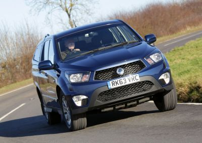 FURTHER REFINEMENT FOR THE 2014 SSANGYONG KORANDO SPORTS PICK-UP