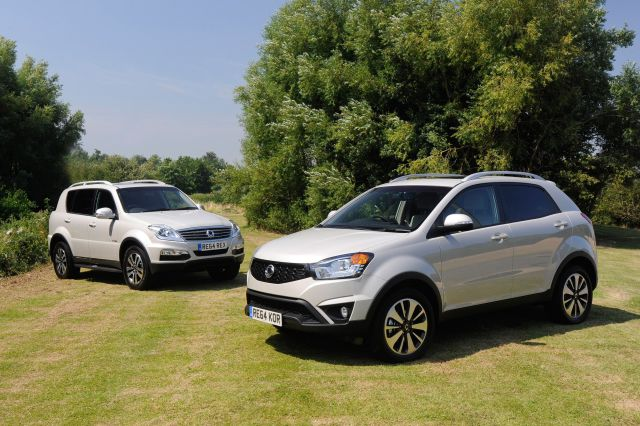 WHY NOT ATTACH A SSANGYONG TO YOUR 64 REG THIS AUTUMN?