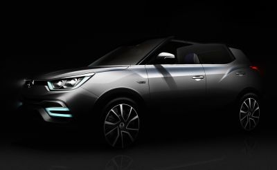 SSANGYONG TO SHOWCASE XIV-AIR AND XIV-ADVENTURE AT PARIS