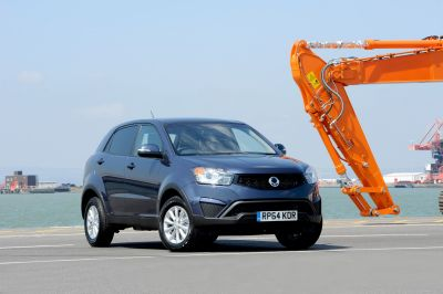 NEW LOOK FOR THE SSANGYONG KORANDO CS & CSX COMMERCIAL