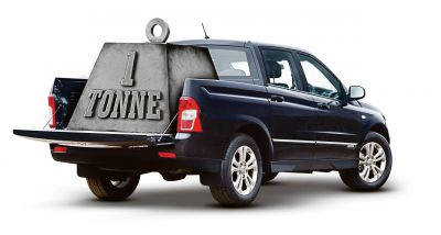 TONNE-UP KORANDO SPORTS PICK-UP IS JUST THE BUSINESS