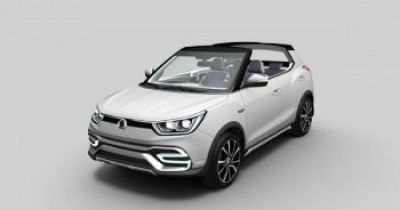 SSANGYONG XIV 'AIR' AND 'ADVENTURE' CONCEPTS UNVEILED IN PARIS