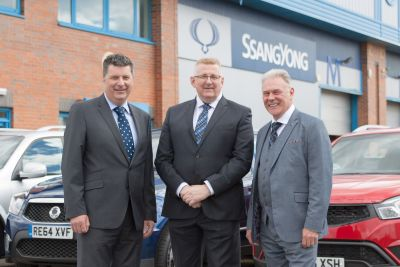 SSANGYONG GEARS-UP FOR SALES GROWTH WITH NEW APPOINTMENTS