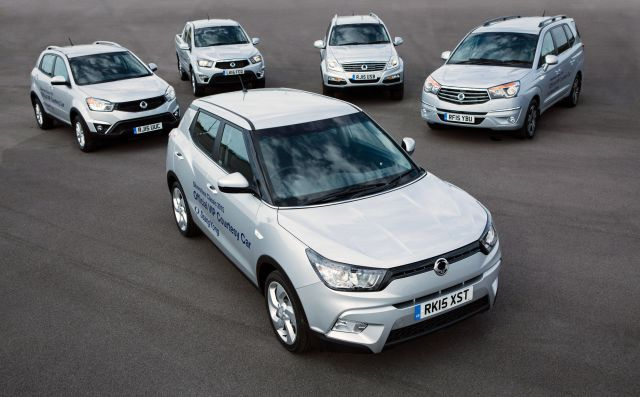SSANGYONG GEARS UP FOR THE SILVERSTONE CLASSIC