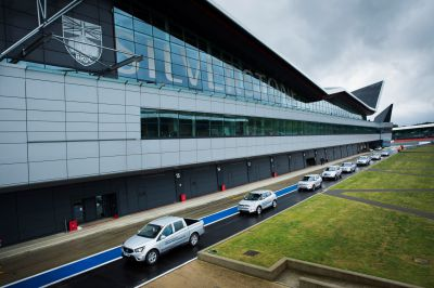 COME RAIN AND SHINE, THE SILVER SSANGYONGS DELIVER AT SILVERSTONE