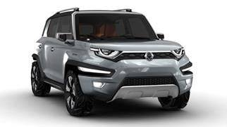 SSANGYONG SHOWCASES ITS XAV-ADVENTURE CONCEPT AT FRANKFURT