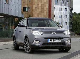 IT'S A FIRST - SSANGYONG TIVOLI NOMINATED FOR WORLD CAR OF THE YEAR