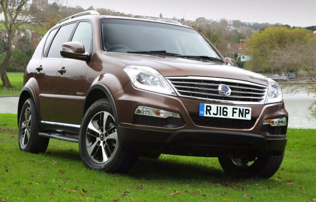 ADD 16 TO A NEW SSANGYONG 2.2 THIS MARCH & THE SUMS REALLY ADD UP!