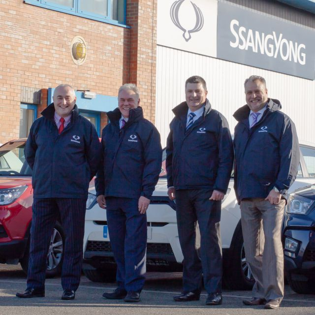 SSANGYONG STRENGTHENS ITS UK SALES ORGANISATION