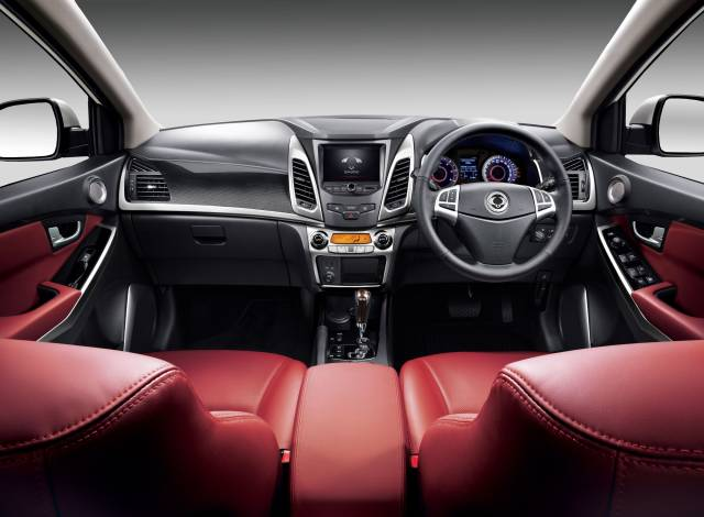 SSANGYONG ADDS KORANDO 'RED' SPECIAL EDITION