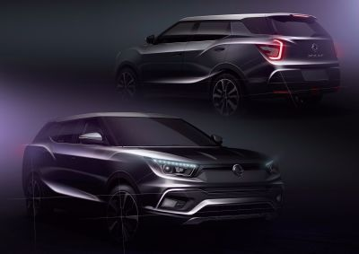 INTERNATIONAL DEBUT FOR NEW SSANGYONG TIVOLI XLV AND MIDSIZE SIV-2 CONCEPT AT GENEVA