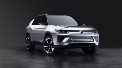 SSANGYONG TEASES NEW MIDSIZE SUV CONCEPT AT GENEVA