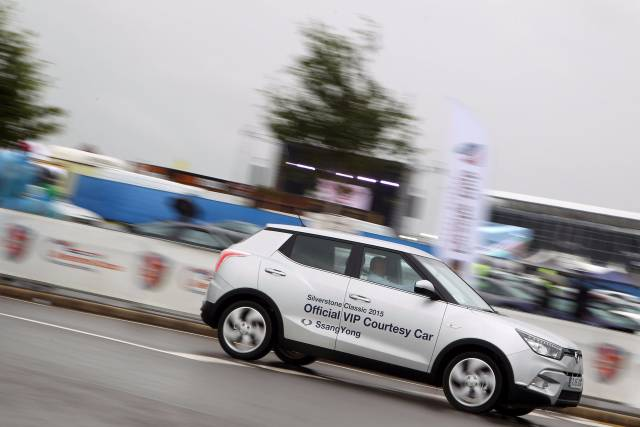 ANOTHER LAP OF THE SILVERSTONE CLASSIC FOR SSANGYONG