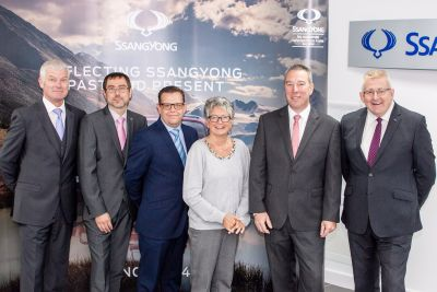 FURTHER BOOST TO SSANGYONG AFTERSALES SERVICE WITH FOUR NEW APPOINTMENTS
