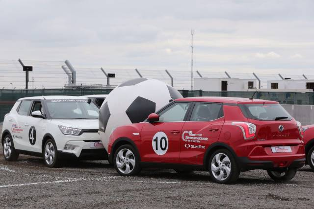 THEY THOUGHT IT WAS ALL OVER - IT IS NOW!  SSANGYONG HELPS CELEBRATE 50th ANNIVERSARY OF THE 1966 ENGLAND v GERMANY WORLD CUP FINAL