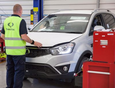 SSANGYONG STRENGTHENS SERVICE TO DEALERS WITH NEW VEHICLE PREPARATION CENTRE