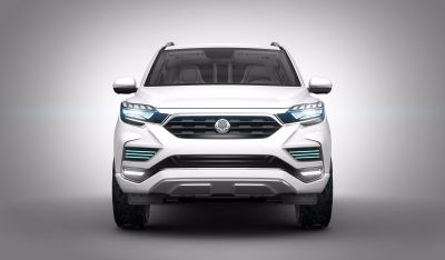 SSANGYONG DISPLAYS ITS LIV-2 SUV CONCEPT AT PARIS