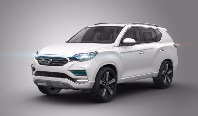 SSANGYONG SHOWCASES LIV-2 SUV CONCEPT AND TIVOLI & XLV UPGRADES FOR 2017 AT PARIS