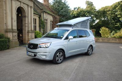SSANGYONG PREVIEWS NEW TURISMO TOURIST CAMPER AT THE MOTORHOME & CARAVAN SHOW