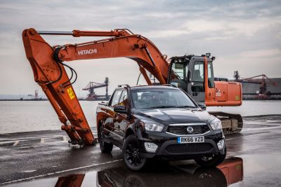 NEW SSANGYONG MUSSO ONE-TONNE PICK-UP DELIVERS MORE POWER & HUGE VALUE