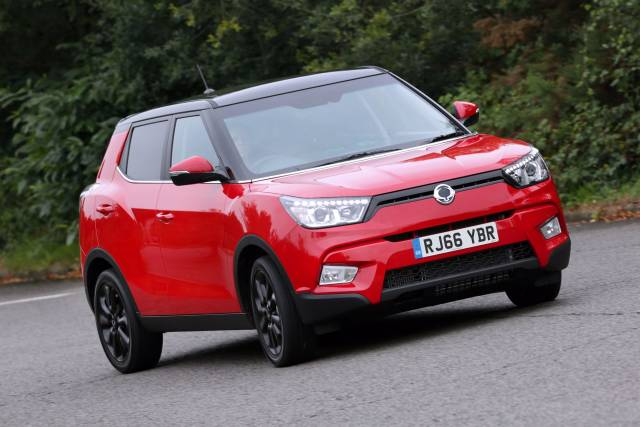 SSANGYONG TIVOLI NOW AVAILABLE ON CONTRACT HIRE FROM JUST £199