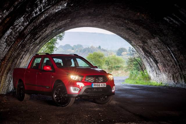 SSANGYONG MUSSO PICK-UP NOW AVAILABLE ON CONTRACT HIRE FROM JUST £194